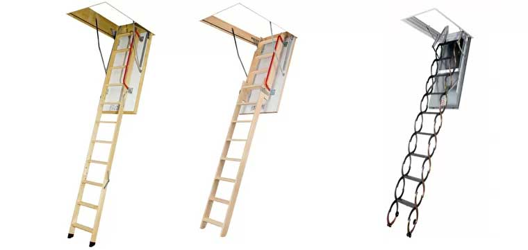 раздвижные лестницы